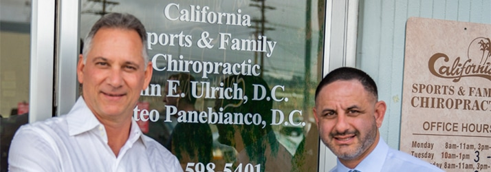 Chiropractor San Carlos CA Dr. John Ulrich and Dr. Matteo Panebianco